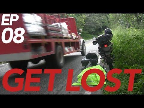 BROKEN | GET LOST Ep8. | A Solo Motorcycle Adventure to the Darien Gap