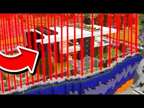 WORLD'S SAFEST MINECRAFT PE HOUSE!