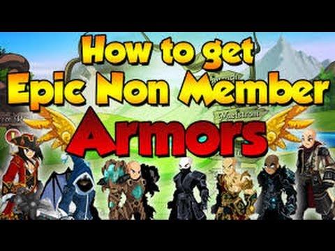 AQW - TOP 10 FREE ARMORS - (Non-Member/Ac's) 2016