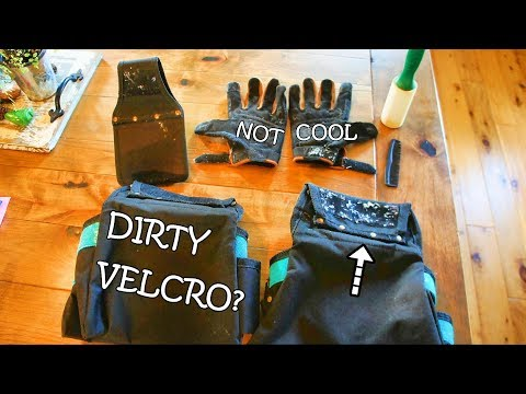 How to Easily and Quickly clean VELCRO