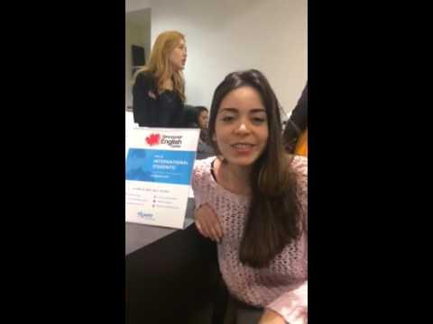Adriana Castagnino Augusto en Vancouver English Centre