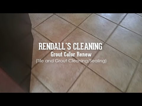 How Rendall's professionally cleans tile and grout - Rendall's Cleaning