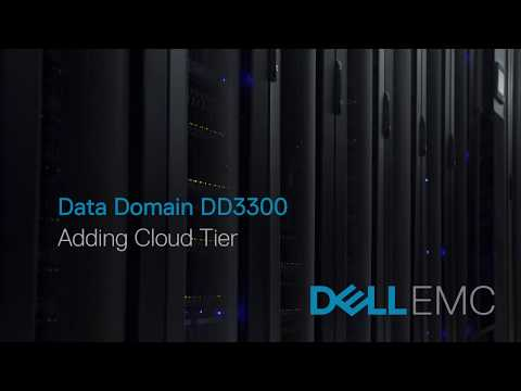 Data Domain DD3300 - Adding Cloud Tier