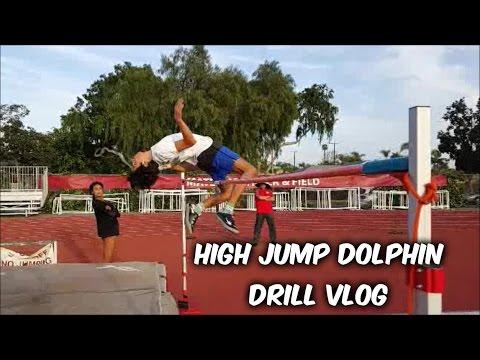 High Jump Dolphin Drill Vlog