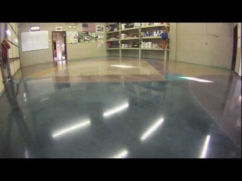 How to Stain & Polish Concrete Floors