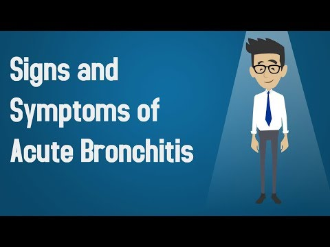 Signs and Symptoms of Acute Bronchitis?
