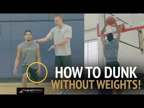 How to Dunk WITHOUT LIFTING WEIGHTS (Top 3 Vertical Jump Plyometric Exercises)