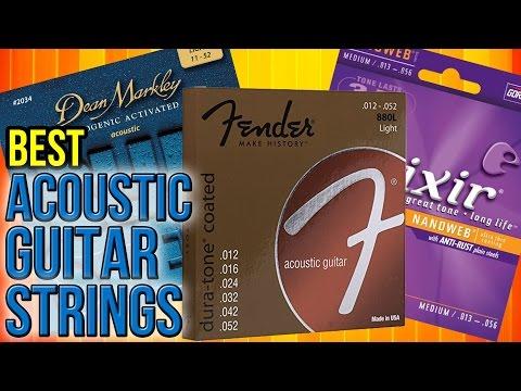 8 Best Acoustic Guitar Strings 2017