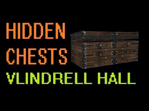 Skyrim: 5 Hidden Chests with Gold, Weapons, Armour and Spells - Vlindrel Hall, Markarth (PS3 & Xbox)