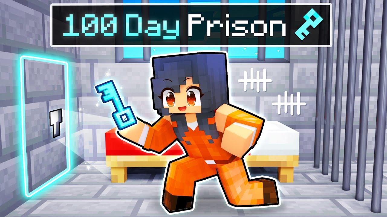 Surviving 100 DAYS in Minecraft PRISON!