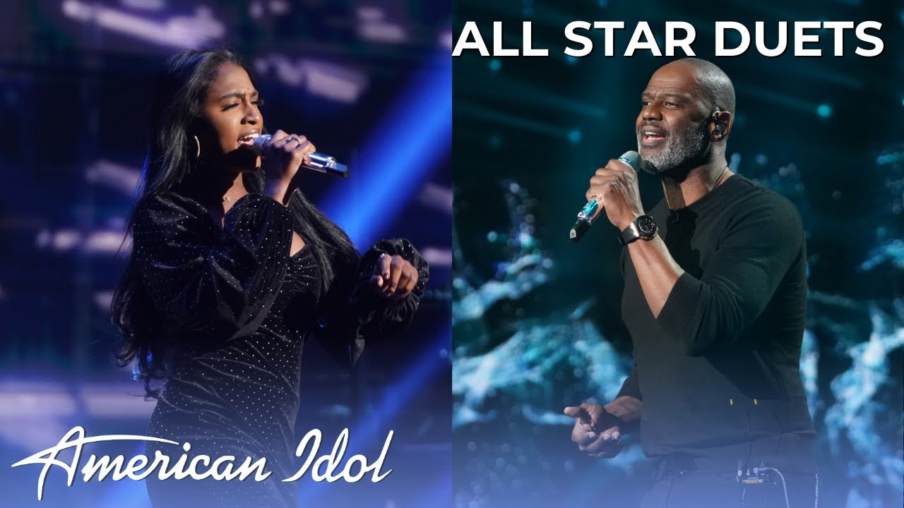 American Idol: Alana SINGS Back at One With Brian McKnight!
