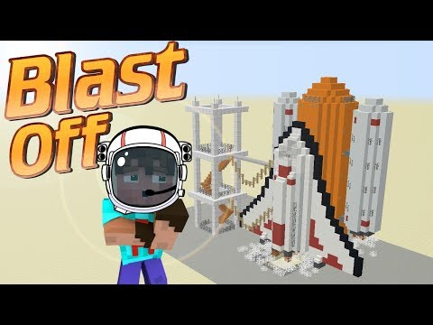 Minecraft | How to make a space shuttle in Minecraft | minecraft build tutorial | Space ship