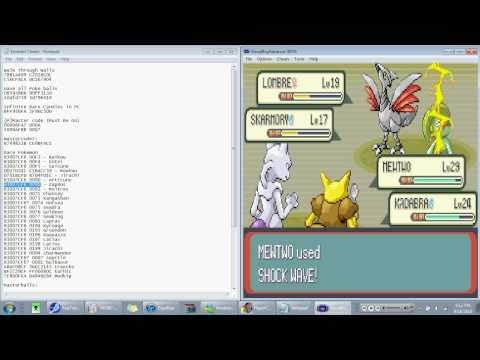 How to play and cheats for Pokemon Emerald GBA!!!