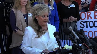 Wife of Moore Defiant, GOP Spars Over Candidacy