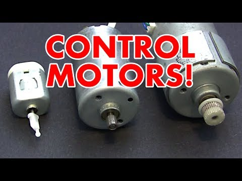 H Bridge Motor Speed Controller Tutorial