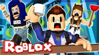Roblox Obby - ESCAPE THE STINKY BATHROOM! | ItsFunneh