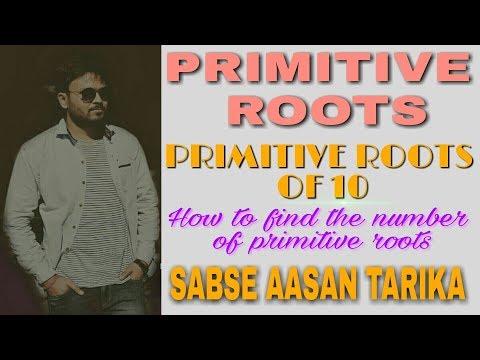 Primitive roots | primitive roots of 10 🔥