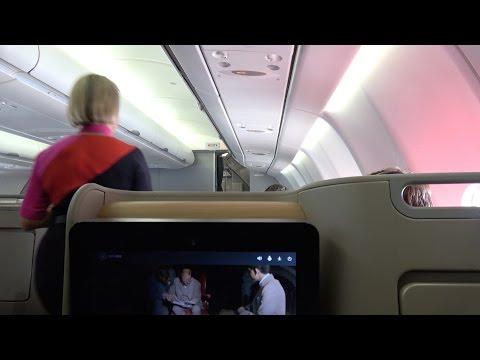 A330 Qantas: Sydney to Melbourne, Australia