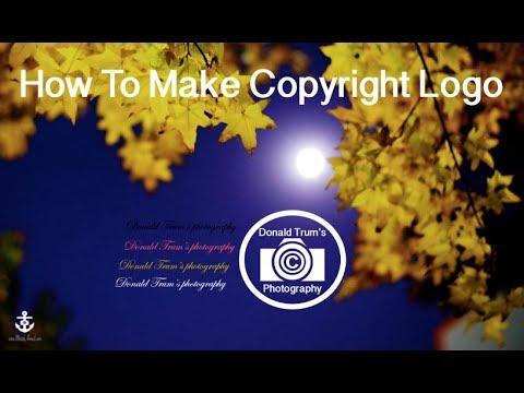Making Copyright logo for photography - Bangla