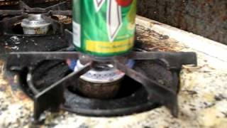 Heating a Can of Soda