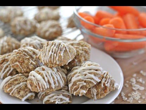 Easy Carrot Cake Oatmeal Cookies