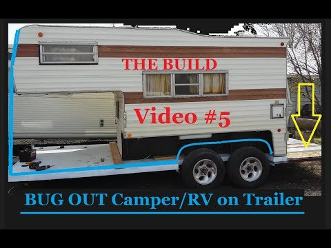 BUG OUT Hybrid RV going on Trailer Frame, #5 - Info Below