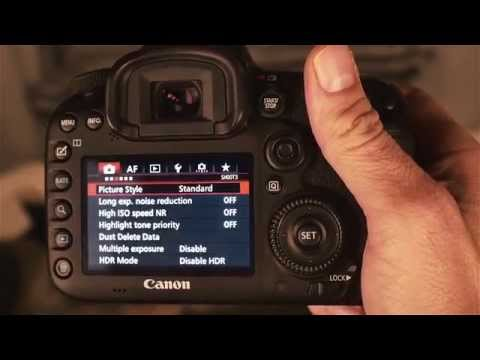 Canon 7D Mark ii Settings and Functions