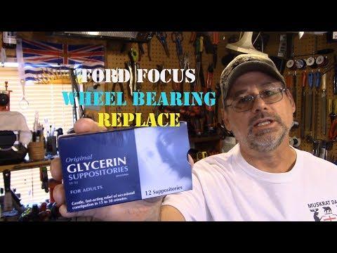 Ford Focus Wheel Bearing Replace