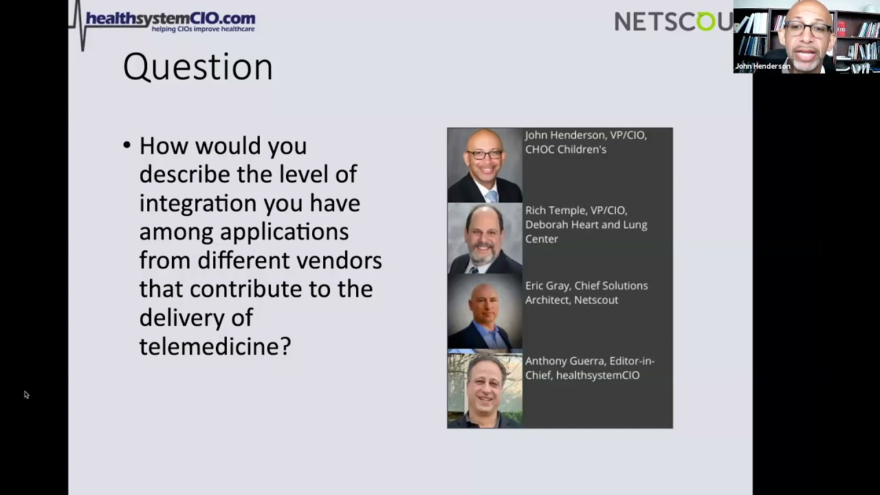 Safeguarding Performance While Integrating EMRs With Other Clinical Apps (Sponsored by Netscout)