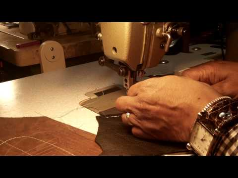 How to select a Sewing Machine for Making Leather Products