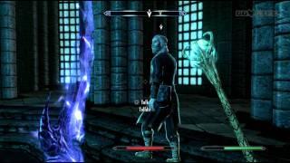 Elder Scrolls V Skyrim Boss Ancano Gameplay