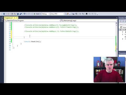 C# 14 Working with DateTime in C#.