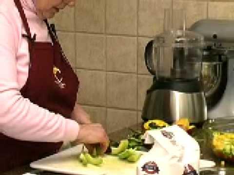 Cooking with Tea:Green Tea and Mango Pasta Salad  part 2
