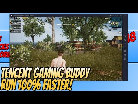 Tencent Gaming Buddy How To Improve Performance PUBG Mobile   RUN PUBG Mobile 100% Faster!