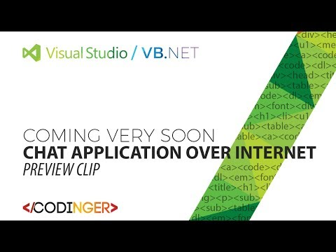 VB.Net - Chat Application over INTERNET [Coming very soon]