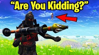 THE WORST TEAMMATE OF ALL TIME!!! (Fortnite Battle Royale Duos Gameplay)