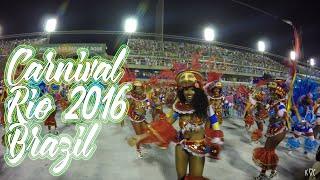 Carnival Rio Brazil 2016 4K