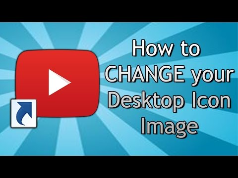 How to CHANGE your Desktop Icon Image - FREE Software (Windows)