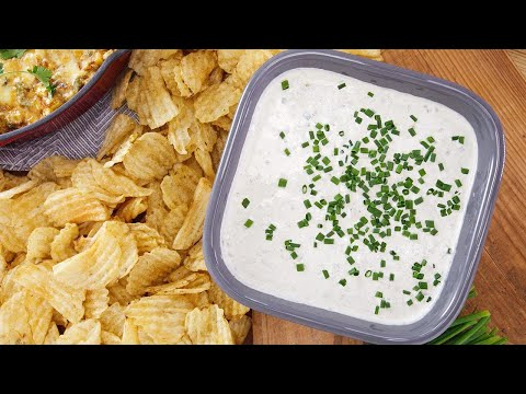 Grilled Sour Cream and Scallion Dip