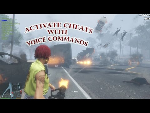 Control GTA V Simple Trainer with Voice Commands (VoiceAttack)