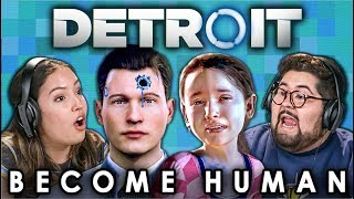 Detroit: Become Human (react: Gaming)