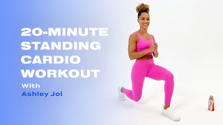20-Minute Standing Cardio Workout With Ashley Joi