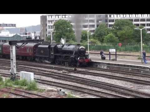 LMS 44932 onThe Royal Duchy at Bristol TM 16.6.13