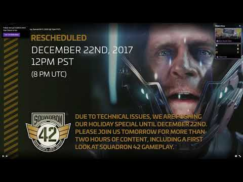 Star Citizen SQ42 Delayed a Day