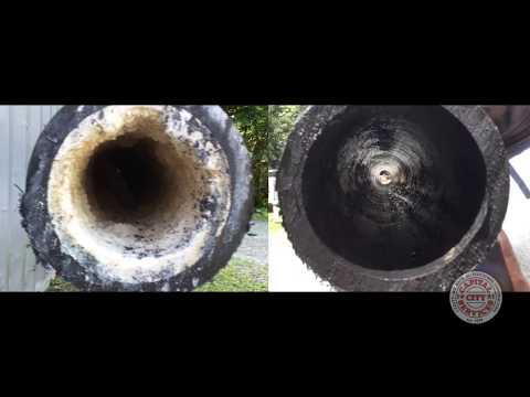Cleaning Leachate Deposits - DEMO