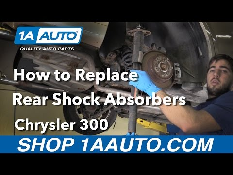How to Install Replace Rear Shock Absorbers 05-14 Chrysler 300