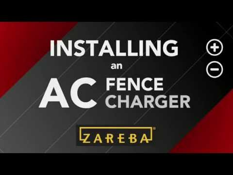 How to Install an AC (Plugin) Fence Charger: Electric Fence 101 | Zareba®