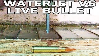 Download Live Ammunition Cut in Half with Waterjet Video