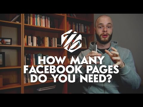 Facebook Business Page — How Many Facebook Pages Do You Need? | #255