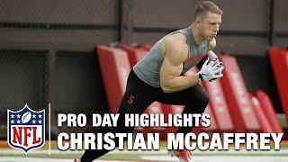 Christian McCaffrey Pro Day Highlights & Bucky Brooks Analysis | NFL | Path to the Draft